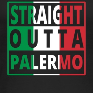 Straight outta Italia Italy Palermo - Women's Organic Tank Top by Stanley & Stella
