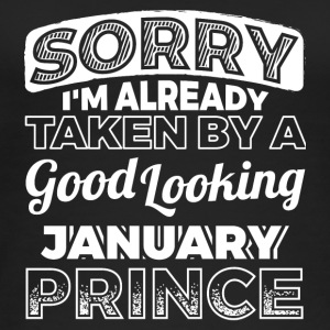 Sorry Already Taken By January Prince Shirt - Women's Organic Tank Top by Stanley & Stella