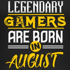 Legendary Gamers are born in August - Women's Organic Tank Top by Stanley & Stella