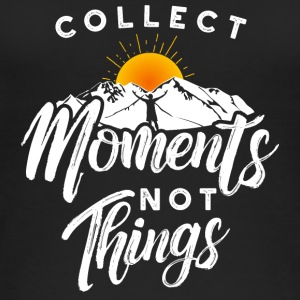 Collect moments not things - Travel adventure - Women's Organic Tank Top by Stanley & Stella
