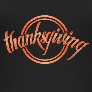 Thanksgiving Thanksgiving kalkoen november cirkel - Vrouwen bio tank top