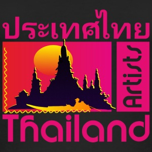 Thailand Artists, Bangkok, pink - Women's Organic Tank Top