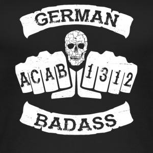 german badass deutschland fussball hooligan tattoo - Frauen Bio Tank Top
