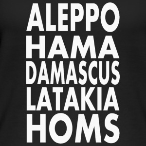 Syria Aleppo, Hama, Damascus, Latakia, Homs - Women's Organic Tank Top by Stanley & Stella