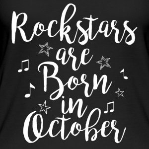 Rockstars are born in October - Women's Organic Tank Top by Stanley & Stella