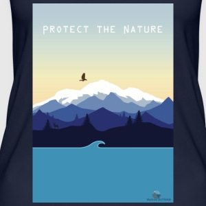 Protect Nature - Women's Organic Tank Top by Stanley & Stella