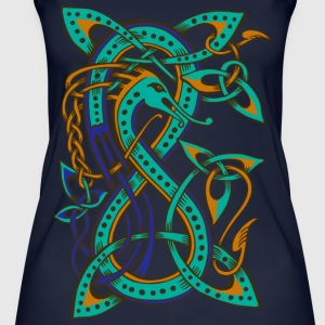 Celtic Dragon - Frauen Bio Tank Top