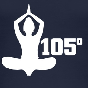 105 graden Hot Yoga Spiritual Pose - Vrouwen bio tank top