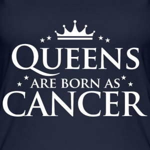 Queens are born as Cancer - Women's Organic Tank Top by Stanley & Stella