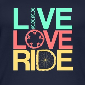 Live, Love, Ride - Women's Organic Tank Top