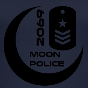 moonpolice Blak - Øko-singlet for kvinner