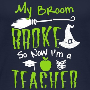 Teacher my broom broke - Women's Organic Tank Top by Stanley & Stella