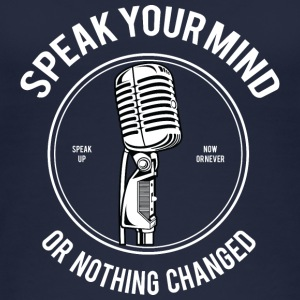 Speak Your Mind - Vrouwen bio tanktop van Stanley & Stella