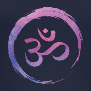 Yoga Zen Circle Om - Vrouwen bio tank top