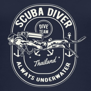 Scuba Diver Diving Team Thailand skjorte - Øko-singlet for kvinner