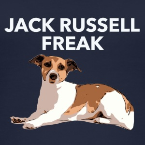 Jack Russel Freak white - Women's Organic Tank Top by Stanley & Stella