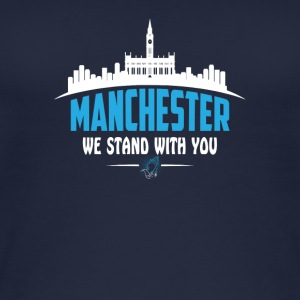 MANCHESTER WE STAND WITH YOU - Women's Organic Tank Top by Stanley & Stella