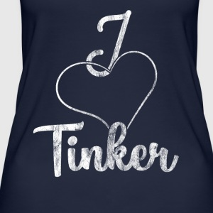 I love Tinker - Women's Organic Tank Top by Stanley & Stella