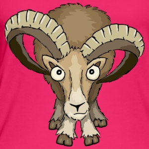 Mufflon sheepbuck stare down Aries gift - Women's Organic Tank Top by Stanley & Stella