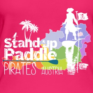 Stand Up Paddle Pirates wit - Vrouwen bio tanktop van Stanley & Stella