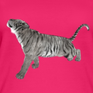 White Tiger - Women's Organic Tank Top