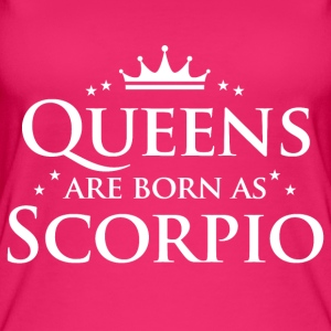 Queens are born as Scorpio - Women's Organic Tank Top by Stanley & Stella