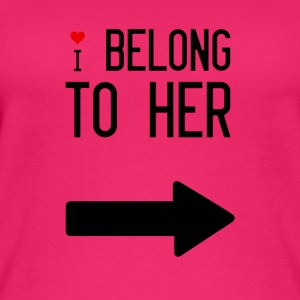 I belong to her - Women's Organic Tank Top