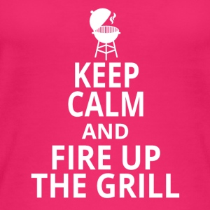Fire up the grill - Women's Organic Tank Top by Stanley & Stella