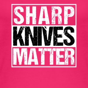 Sharp Knives Grill Chef Sharp Knives Matter - Økologisk Stanley & Stella tanktop til damer