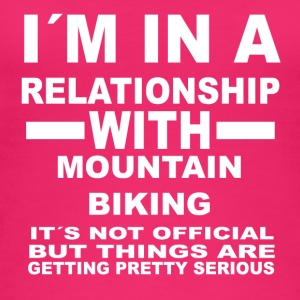 Relationship with MOUNTAIN BIKING - Women's Organic Tank Top
