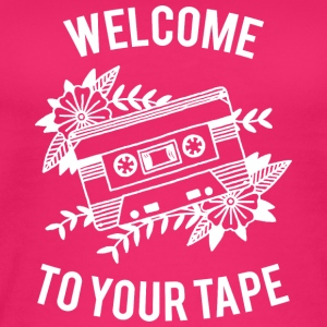 Welcome to your tape - Women's Organic Tank Top