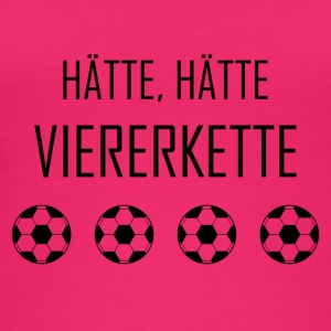 Hätte, Hätte Viererkette - Fussball Rasensport - Frauen Bio Tank Top