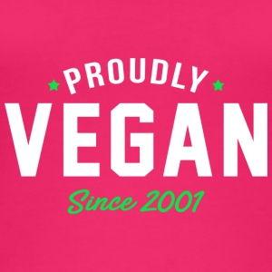 Vegan proud since 2001 proud vegan - Women's Organic Tank Top by Stanley & Stella
