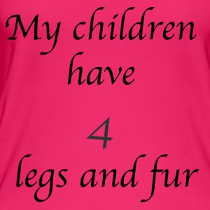 My children have 4 legs and fur - Women's Organic Tank Top by Stanley & Stella