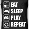 Eat Sleep Play Repeat - Maillot de basket Homme