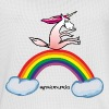 Unicorn on rainbow - Maillot de basket Homme
