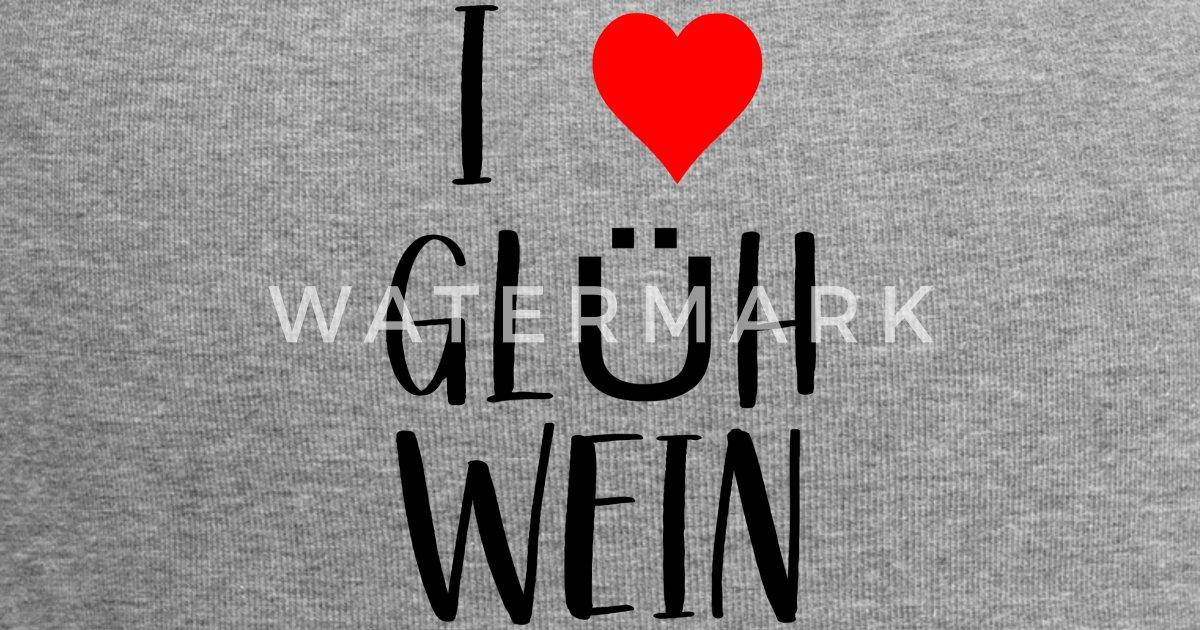 Weihnachtsmarkt I.Wein Weihnachtsmarkt I Love Glühwein Beanie Spreadshirt