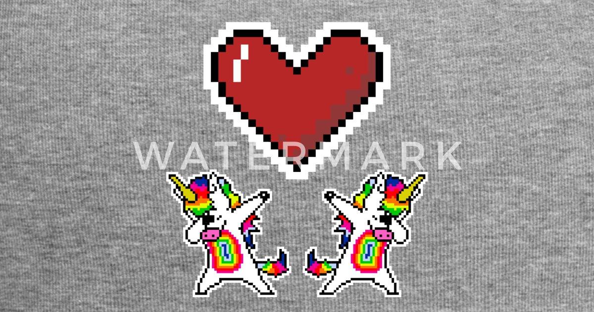 Licorne Licorne Dab Move Pixel Pixelart Beanie Spreadshirt