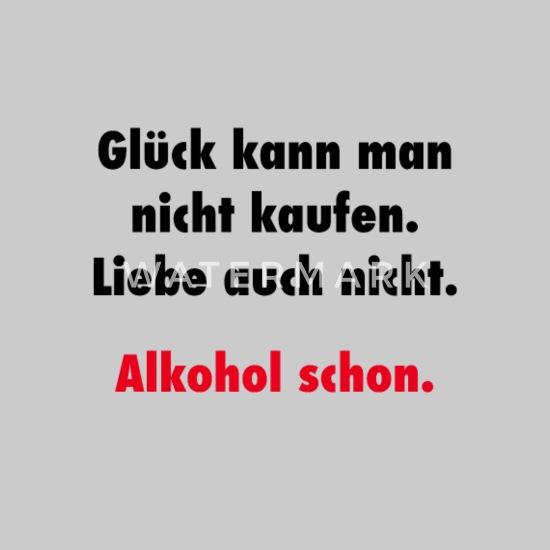Lustige Sprüche Alkohol Trinken Saufen Männer Jersey Beanie Grau Meliert