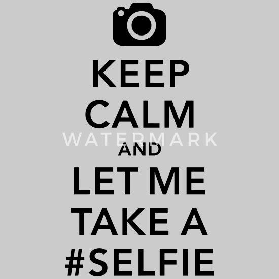 funny Keep calm take a selfie #selfie meme Jersey Beanie - heather grey