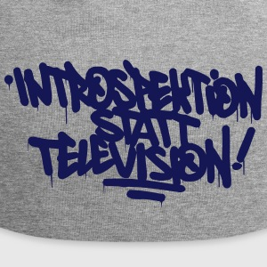 Introspection place Télévision - Bonnet en jersey