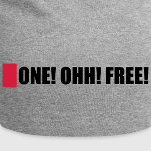 ONE! OHH! FREE! - Jersey Beanie
