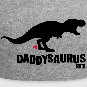 Daddysaurus fathers day gift - Jersey Beanie