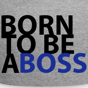 born to be a Boss - Jersey Beanie