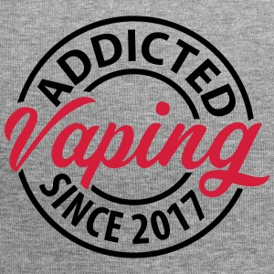 Vaping - Addicted since 2017 - Jersey Beanie