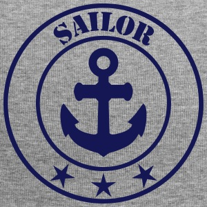 Anker Sailor svg - Jersey-Beanie