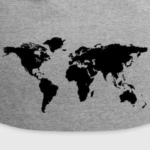 map of the world - Jersey Beanie