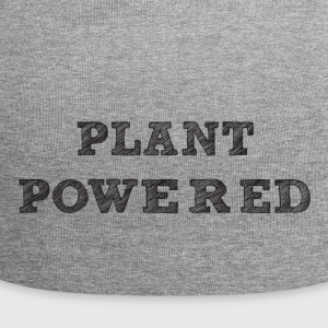plant pawered - Jersey Beanie