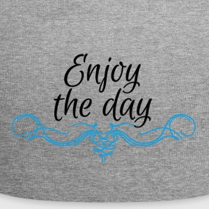 Enjoy the day - Gorro holgado de tela de jersey
