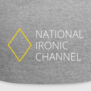 Ironic National Channel - Long Sleeve T-Shirt - Jersey Beanie